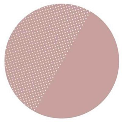 Knoeimat clean wean mat (spotted) Toddlekind - dusky rose