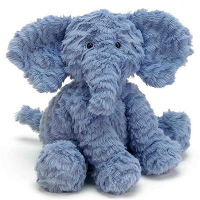 Knuffel fuddlewuddle olifant (medium) Jellycat