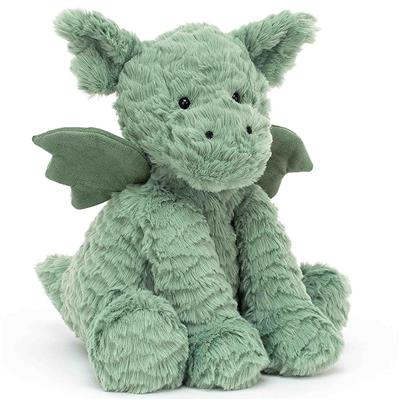 Knuffel fuddlewuddle draak (medium) Jellycat