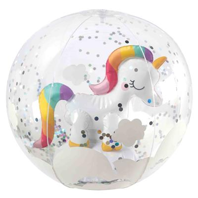 Strandbal unicorn 3d inf. beach ball Sunnylife