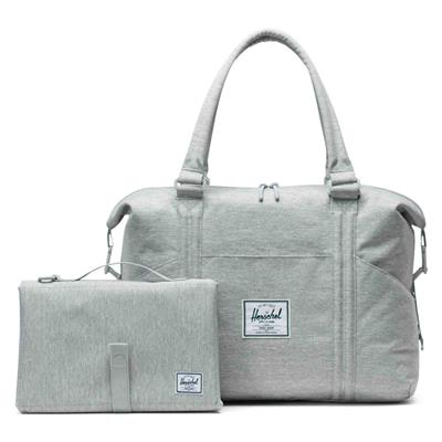 Luiertas strand sprout Herschel - light grey crosshatch