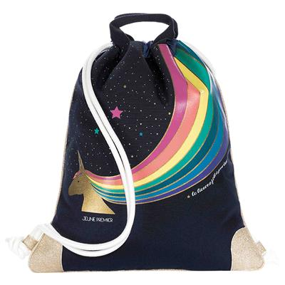 Zwemzak/turnzak city bag Jeune Premier - unicorn gold