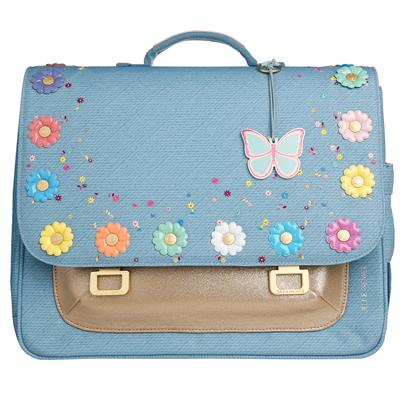 Boekentas it bag midi Jeune Premier - flower power
