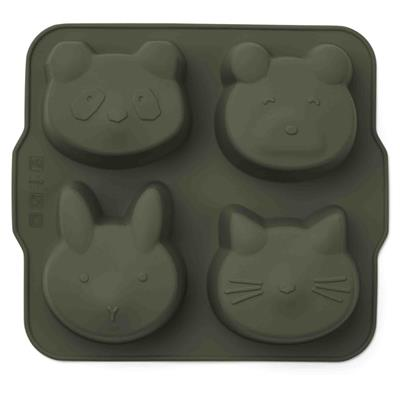 Cakevormpjes Mariam (2-pack) Liewood - hunter green - mustard mix