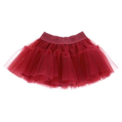 Rok tulle Monnalisa - rosa couture