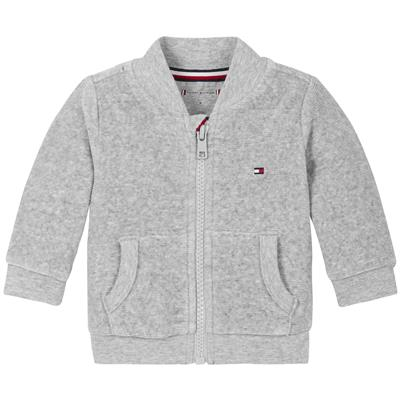 Sweater velours Tommy Hilfiger - grey heather