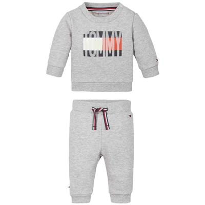 Ensemble 2 delig Tommy Hilfiger - grey heather