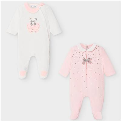 Set van 2 pyjama's Mayoral - baby rose