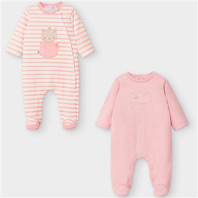 Set van 2 pyjama's Mayoral - blush