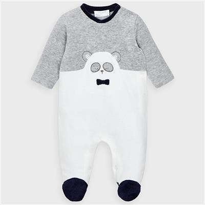 Pyjama panda Mayoral - gray