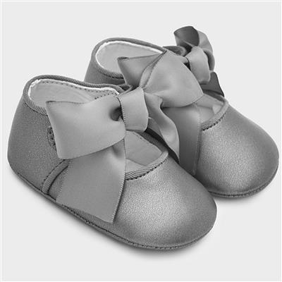 Schoen mary jane Mayoral - silver-pla