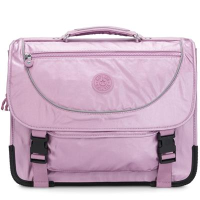 Boekentas preppy Kipling - metallic berry
