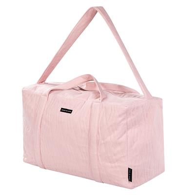 Verzorgingstas weekend bag House of Jamie - geo jacquard pink