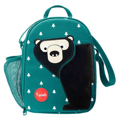 Lunch tas 3 Sprouts - bear