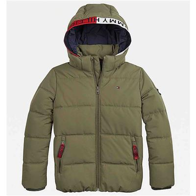 Jas essential Tommy Hilfiger - olive tree