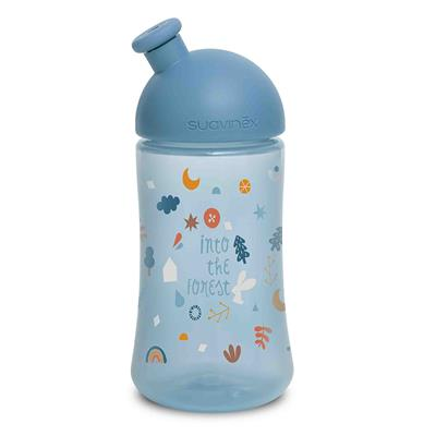 Drinkfles sporty forest Suavinex - blauw