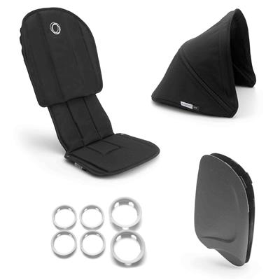 Style set voor buggy ant Bugaboo - black - black