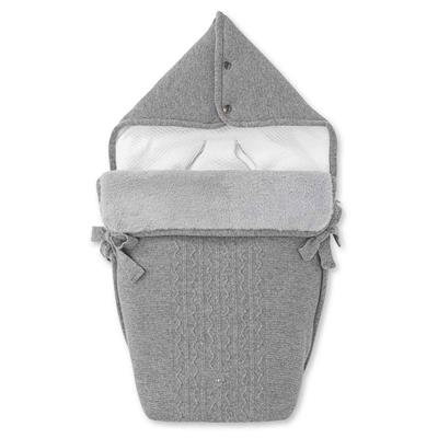 Engelnestje Noa endless grey (wol-cashmere) First - grey