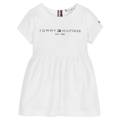 Jurk essential Tommy Hilfiger - white