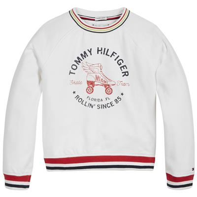 Sweater skate Tommy Hilfiger - white