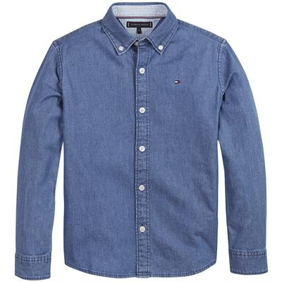 Hemd Tommy Hilfiger - denim medium