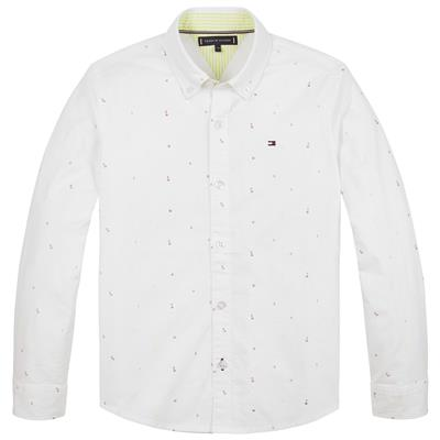 Hemd Tommy Hilfiger - white allover