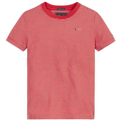 T-shirt Tommy Hilfiger - red stripe