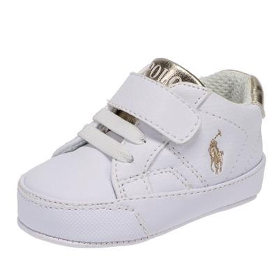 Sneakers Theron Ralph Lauren - white-gold