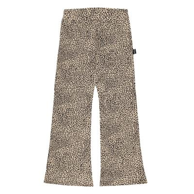 Broek flared House of Jamie - charcoal little leopard