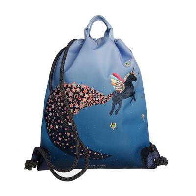 Zwemzak/turnzak city bag Jeune Premier - unicorn universe